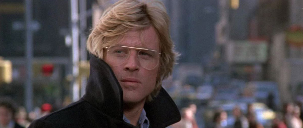Robert Redford in  3 Days of the Condor (1975).