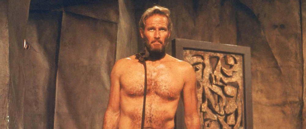 """And by """"visual shock"""" they of course meant more naked Charlton Heston."""