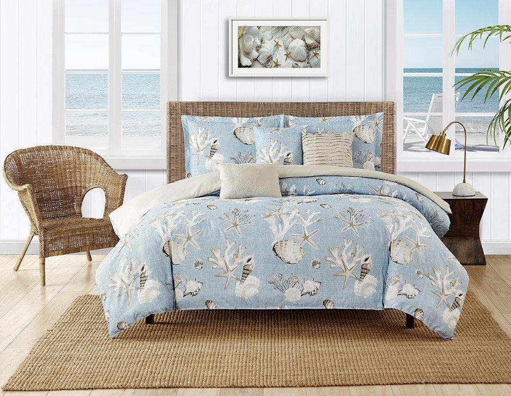 Caribbean Joe Montauk Comforter Set Selling on Boscove's