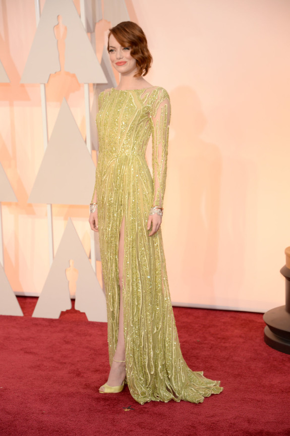 MOST DARING: Emma Stone in Elie Saab Haute Couture