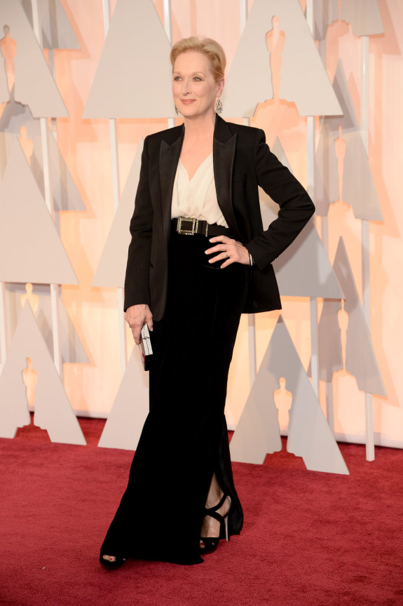 MOST SOPHISTICATED: Meryl Streep in Lanvin