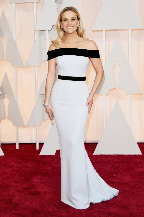 BEST SHAPE: Reese Witherspoon in Tom Ford