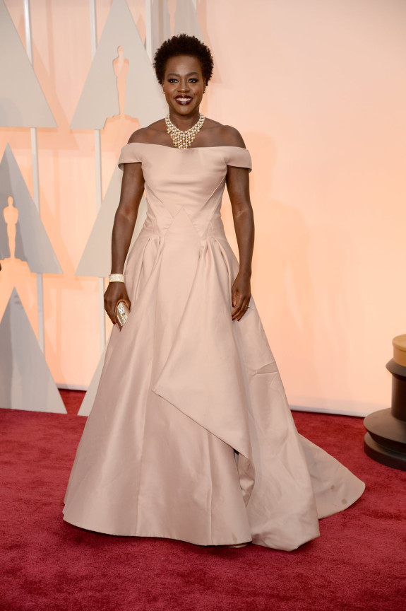 BEST STRUCTURE: Viola Davis in Zac Posen