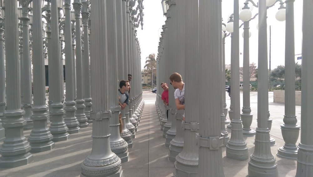 Shenanigans at the Los Angeles County Museum of Art (LACMA)