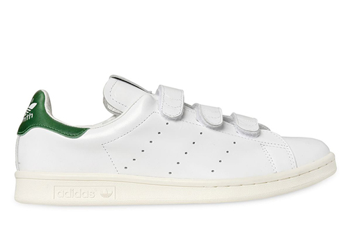 Woman by Common Projects White & Green Stan Smith Sneakers