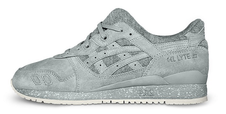 The Grey Asics x Reigning Champ GLIII.