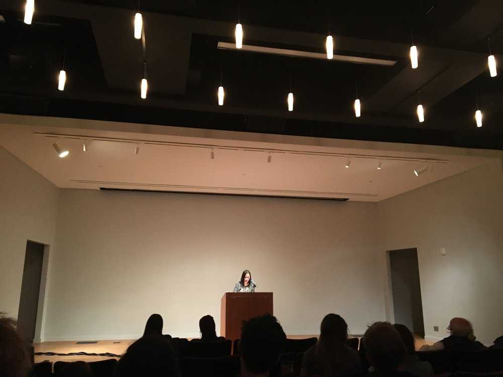 Celest Ng Reading at Helmut Stern Auditorium on November 10th