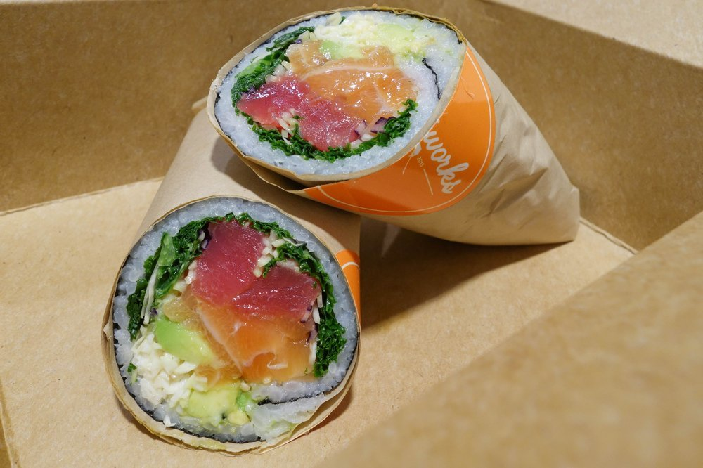 Pokéworks was just named one of the best places to get a sushi burrito in NYC this fall (source)