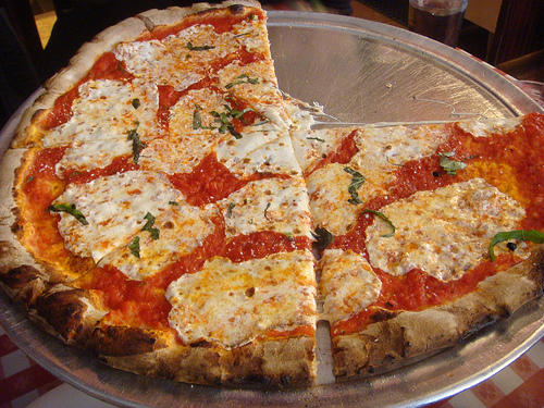 Don't let anyone (aka Chicagoans) tell you pizza from anywhere else is better than New York pizza; it's a complete lie (source)