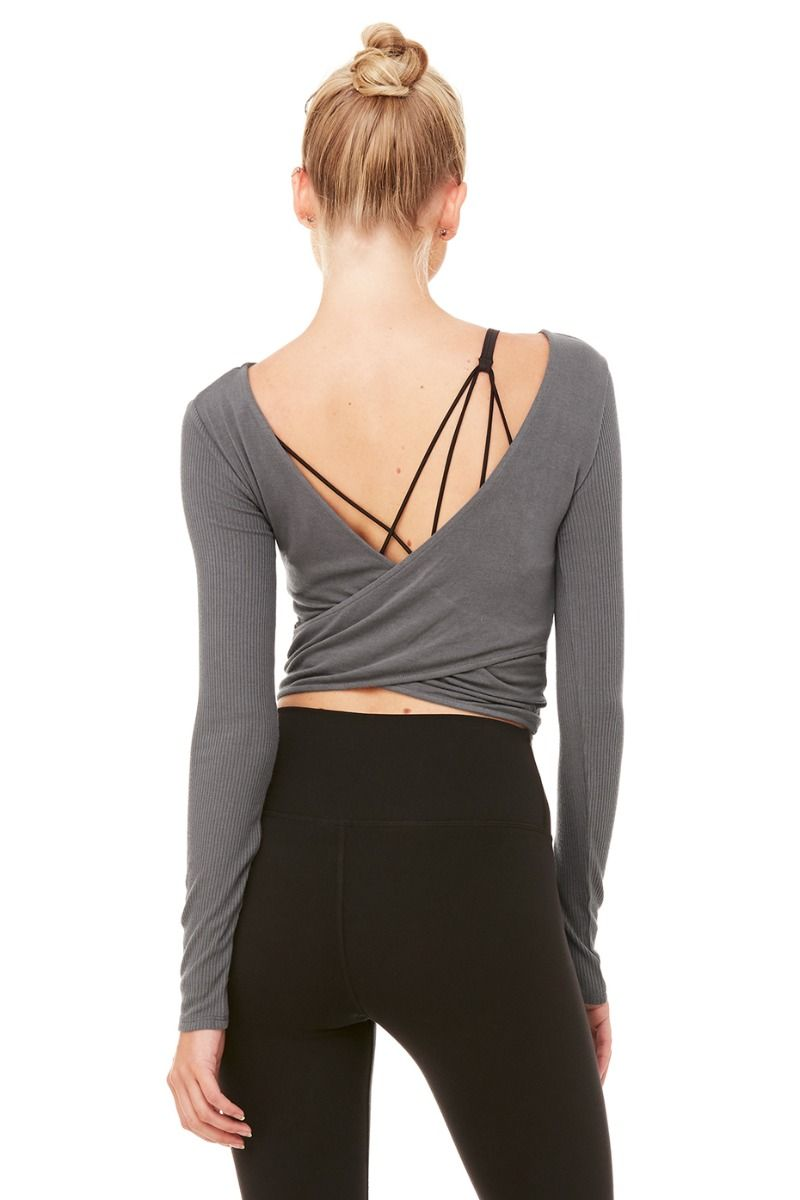 Alo Long Sleeve Crop