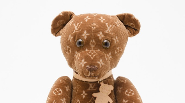 One of 500 monogrammed Louis Vuitton teddy bears sold on eBay (source)