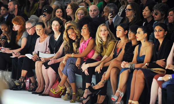 With bloggers getting more power, they also get bigger perks like  front row seats to NYFW