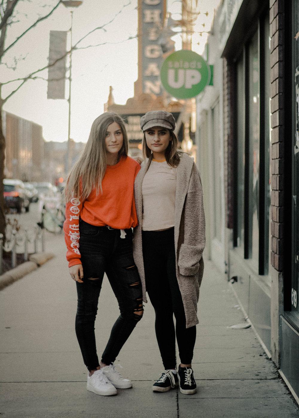Adriana Salah & Bella Athanasiou