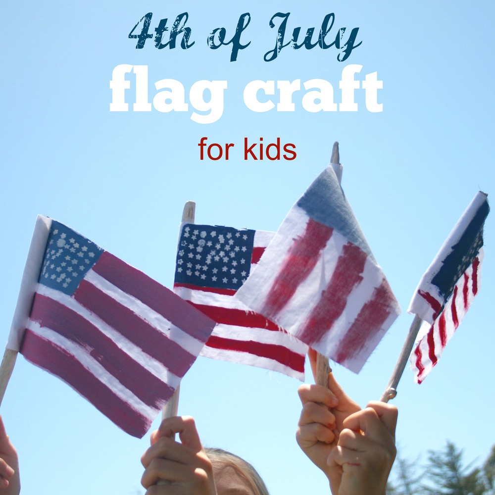 fourthofjulykidcraftflags