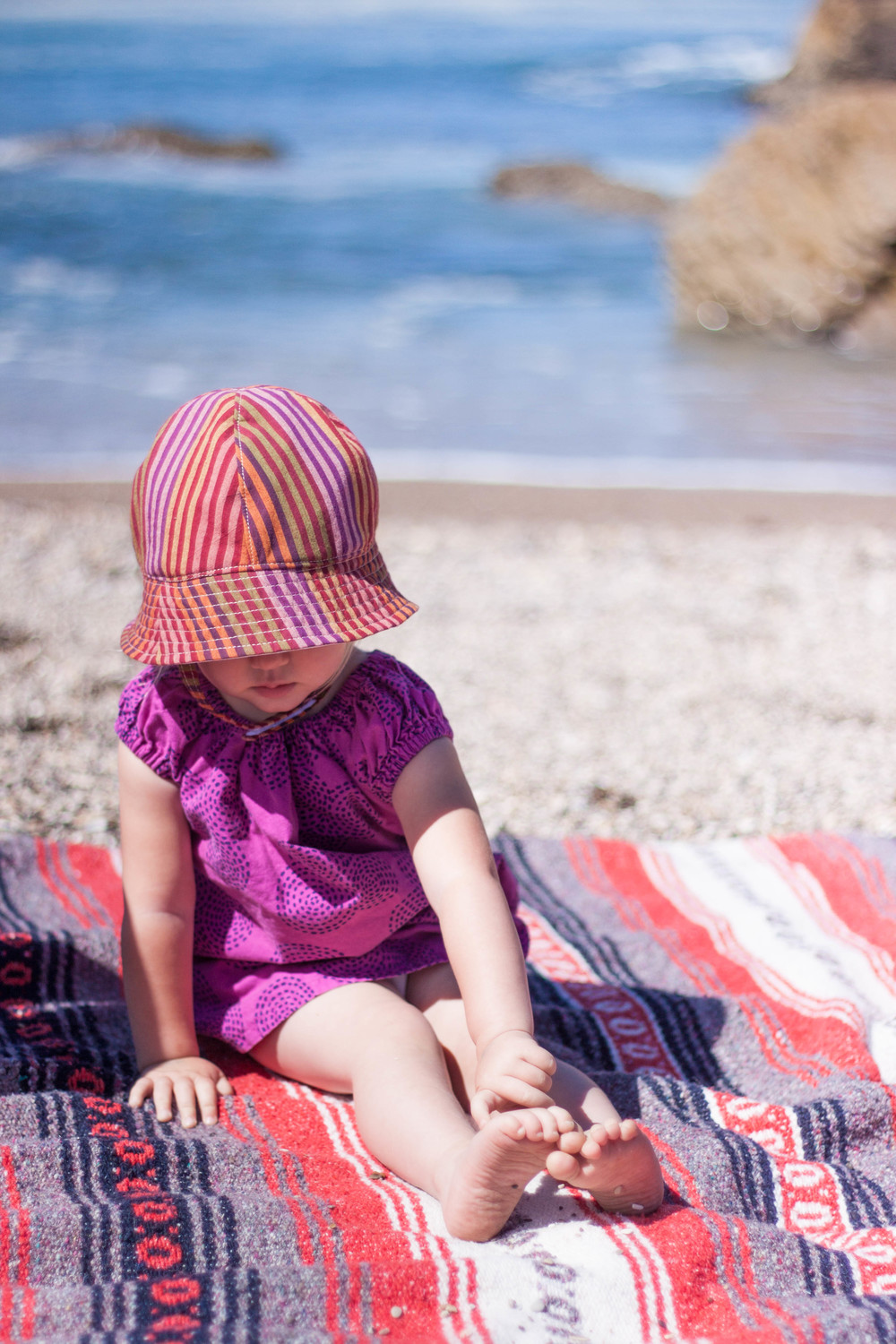 baby beach sun hat by blue corduroy