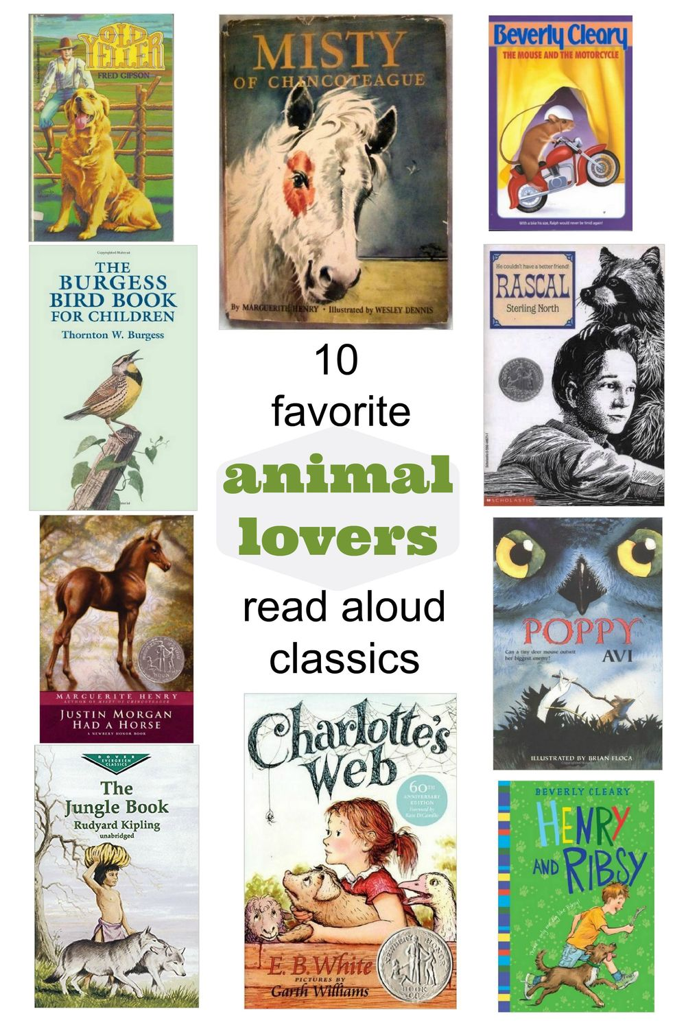 favorite animal books for kids