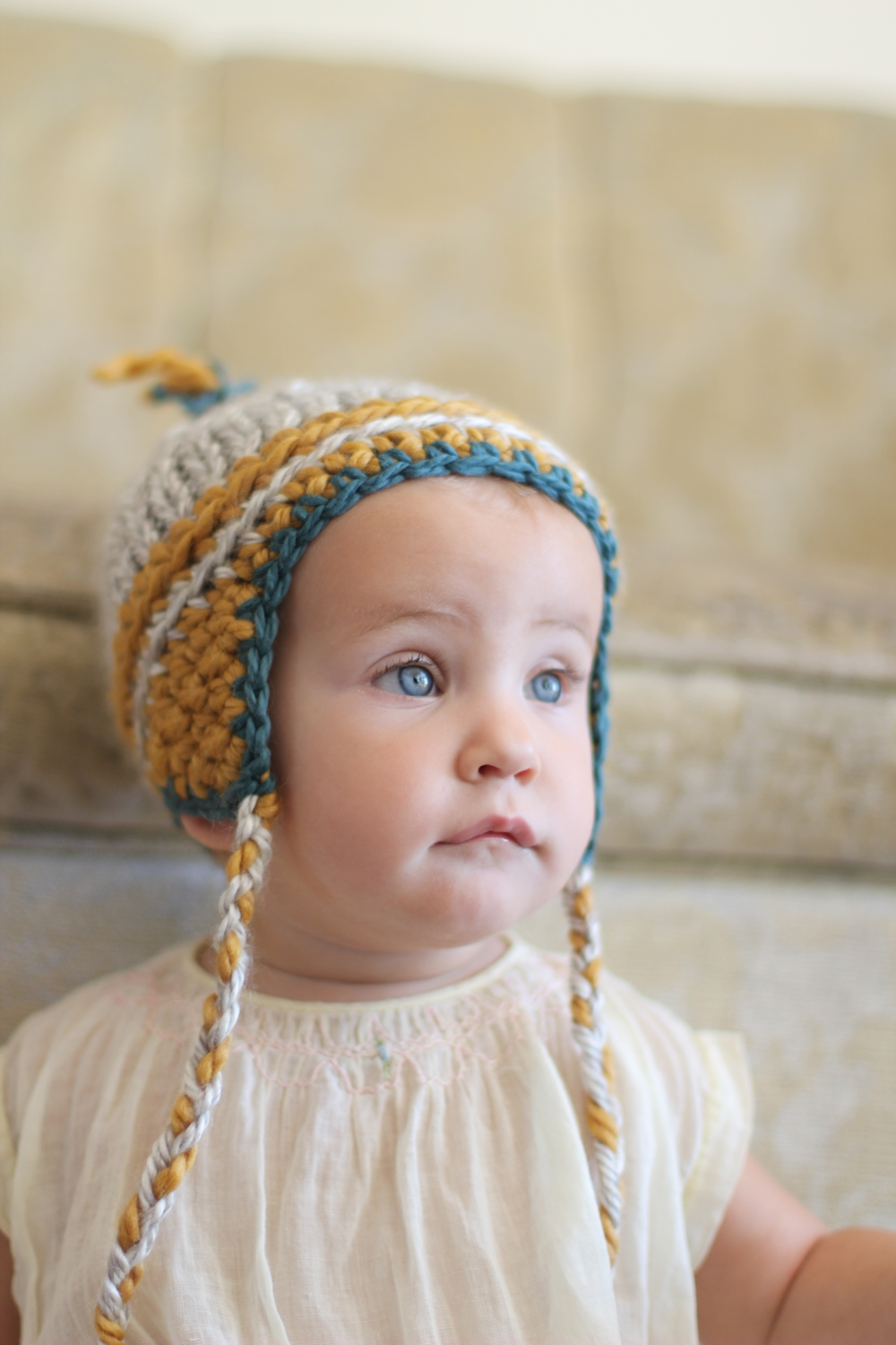 hand made baby beanie on etsy