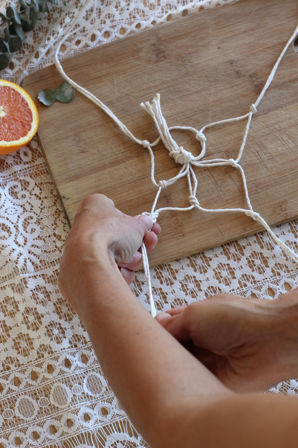 easy macrame how to