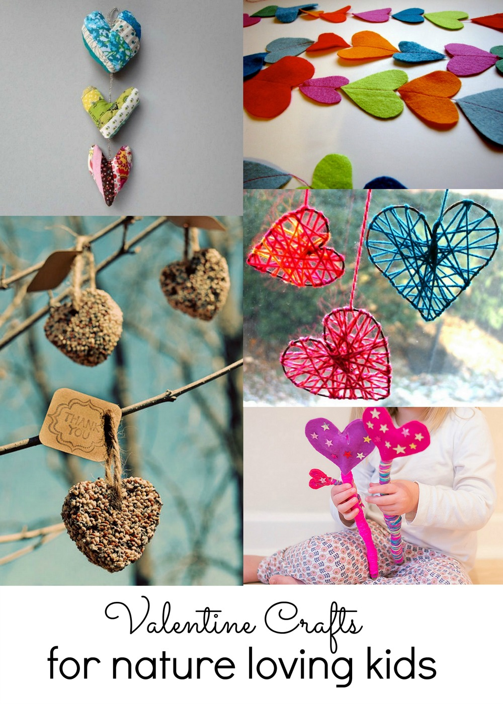 valentine nature crafts