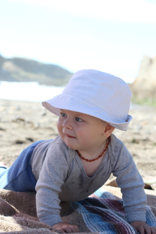 Baby Boy Fedora Sun Hat