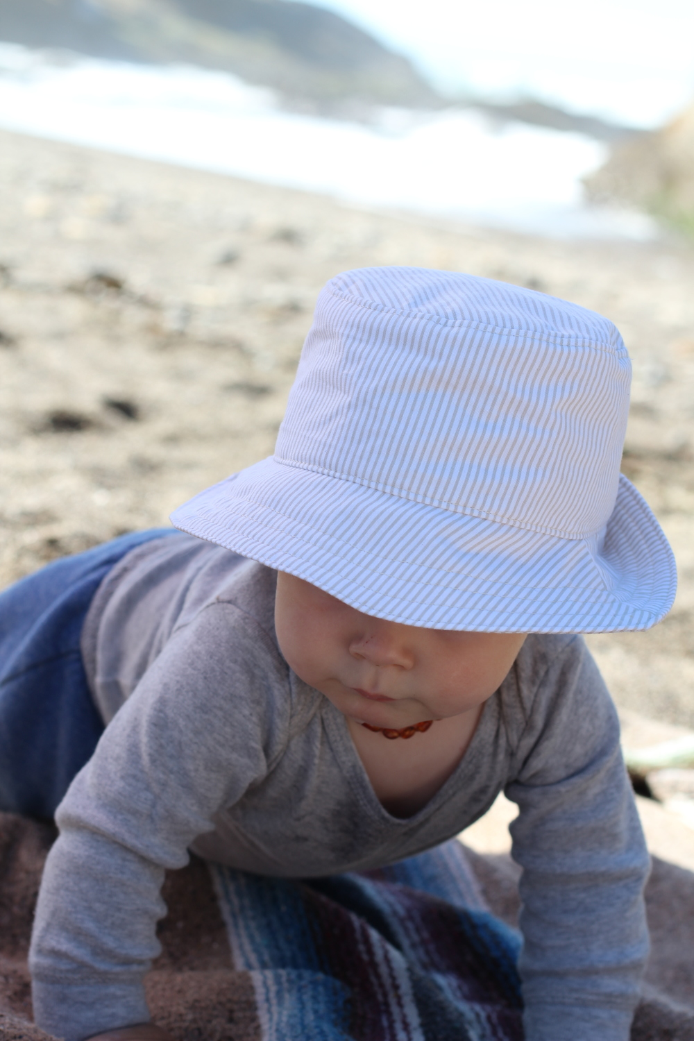 Baby Boy Beach Fedora Hat