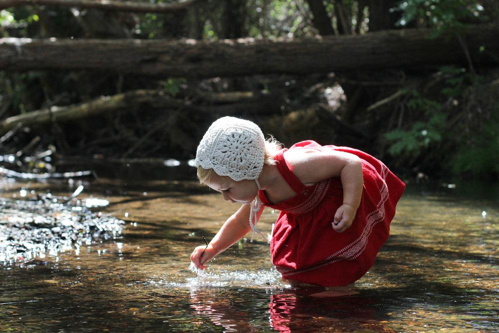 handmade crochet baby bonnet