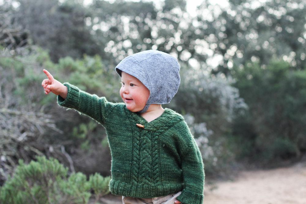 Baby Sun Bonnets for Boys via bluecorduroy.com