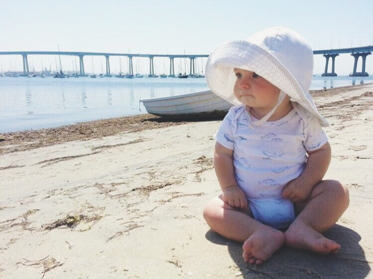 sunscreen favorites and baby sun hats