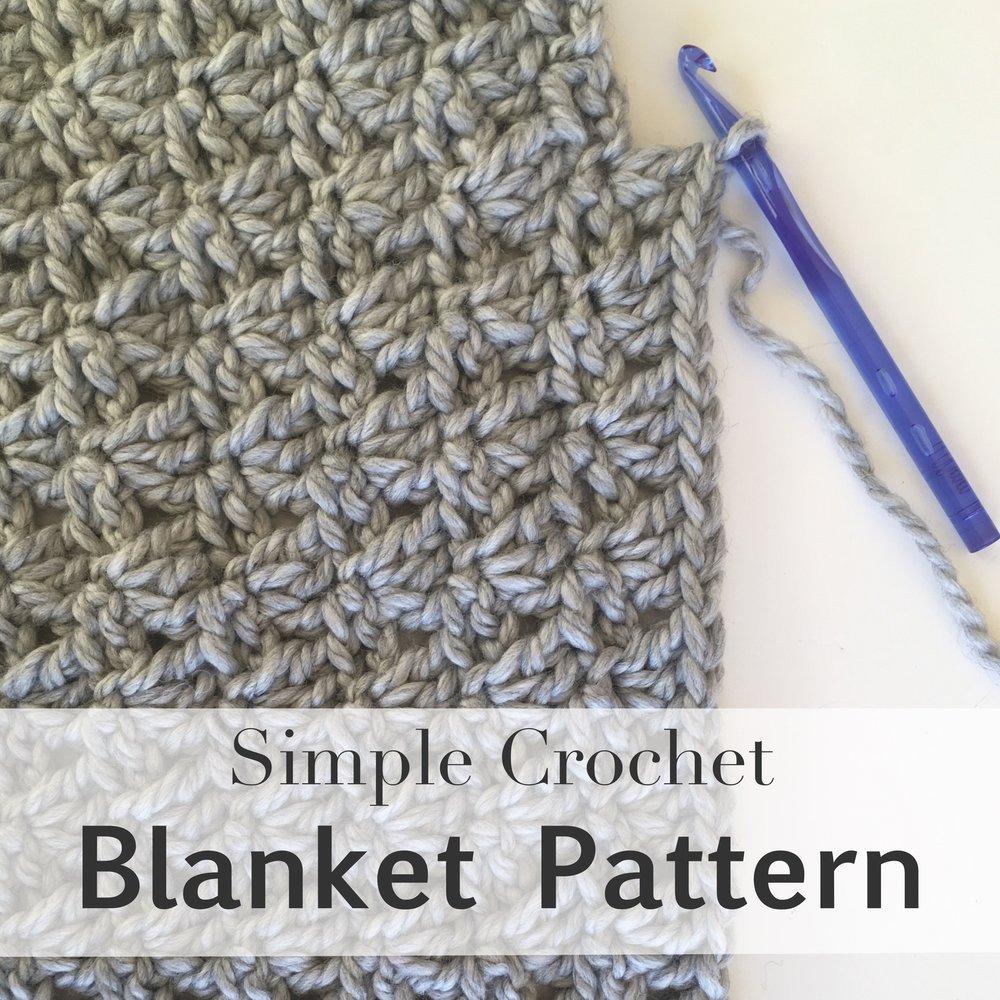 crochet blanket pattern by blue corduroy