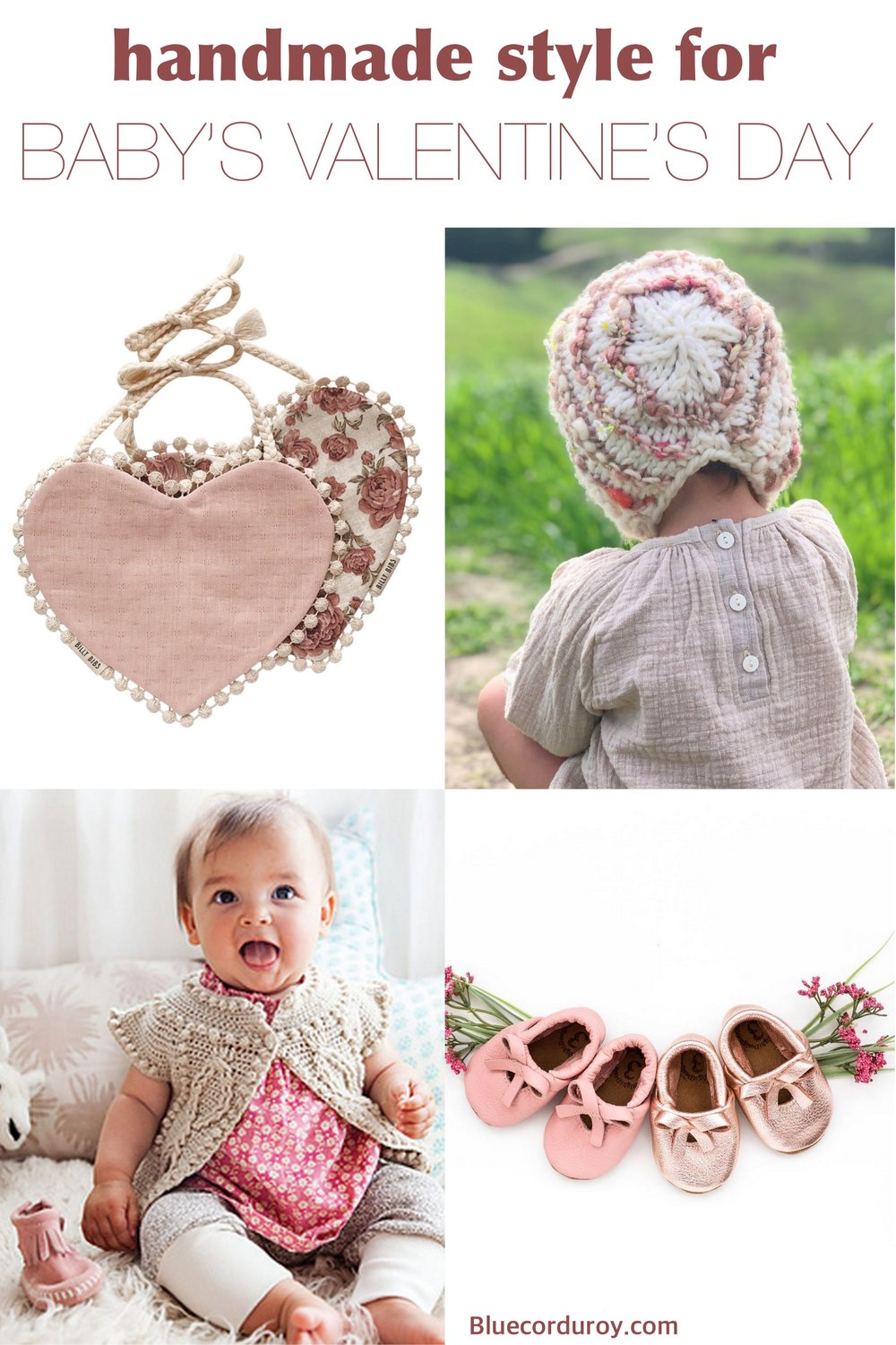 Handmade Valentine's Day Style for Baby