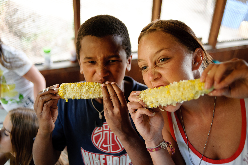 Corn Eating Competitions