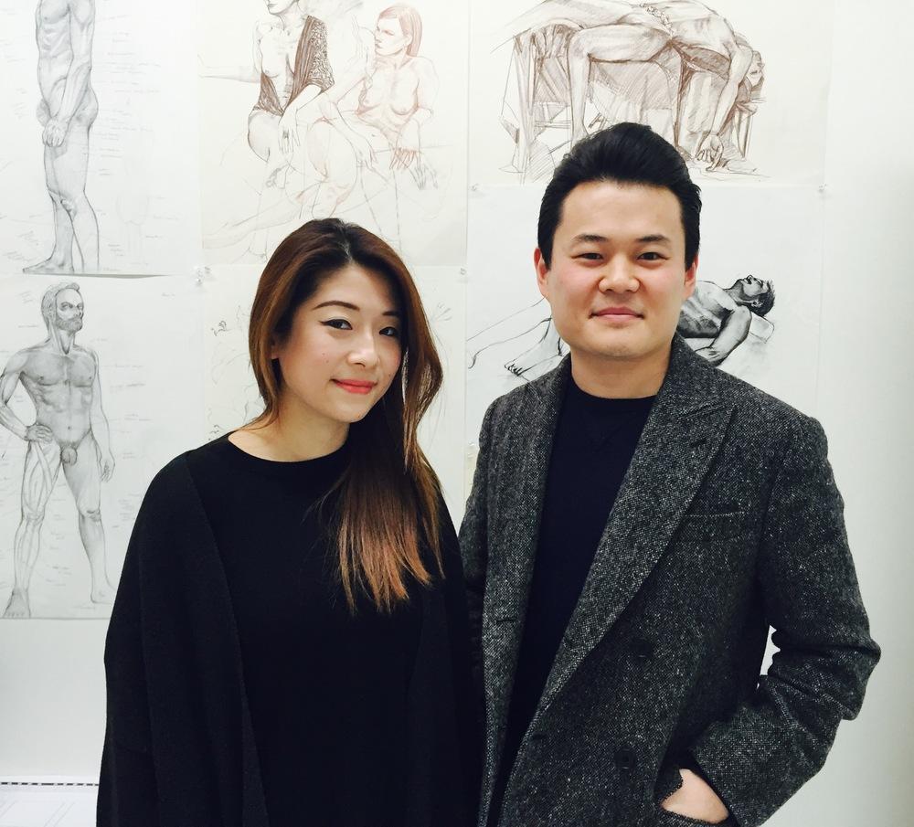 Angela Chen and Alexander Lu of Open Studios