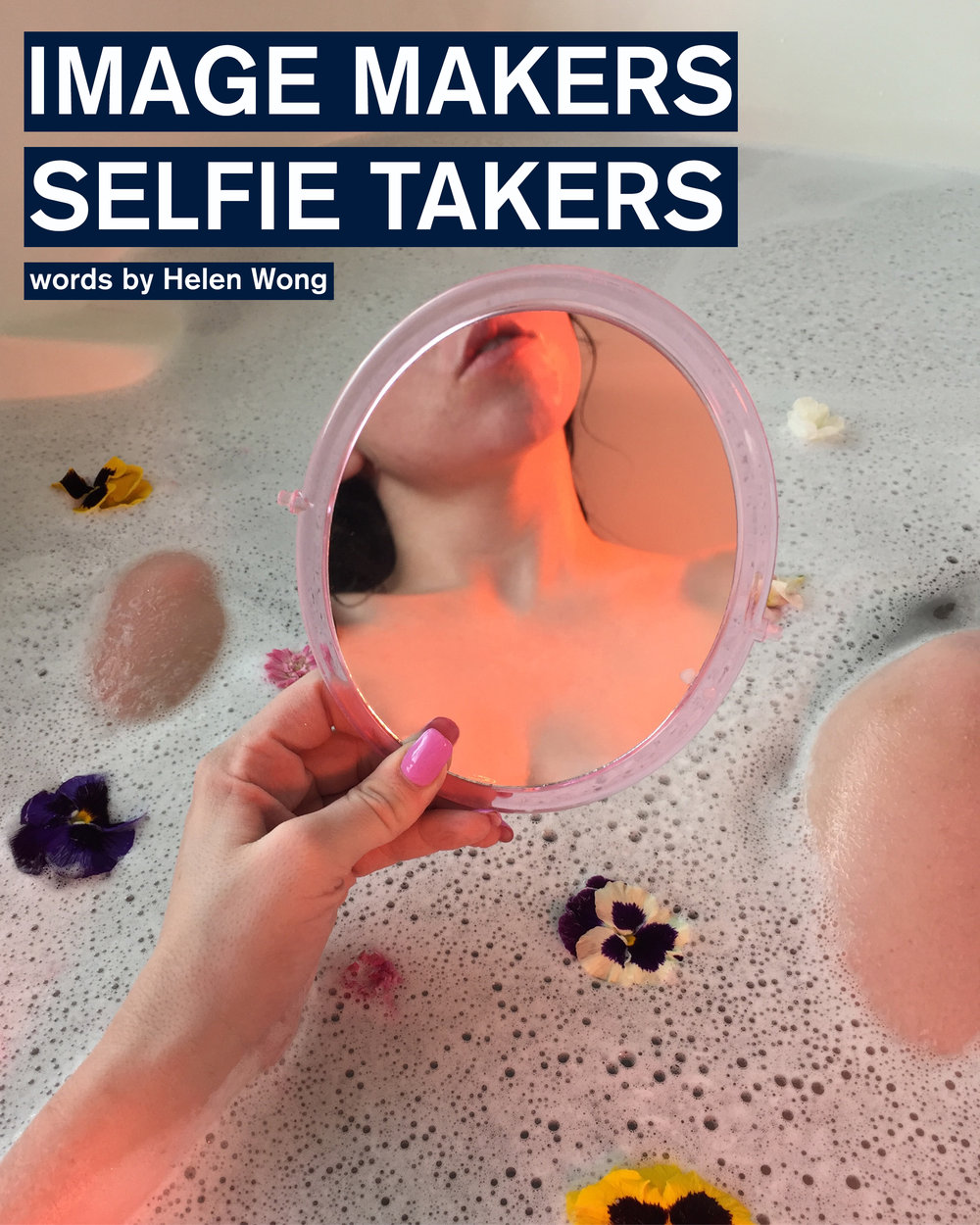 'Instagram' and 'selfies' are terms that have permeated into our everyday culture. We've become a generation saturated by images: ones depicting what we eat, what we wear, or what we do. We've distanced ourselves from images taken by others, to ones produced by us. We are the image-makers and the selfie-takers...