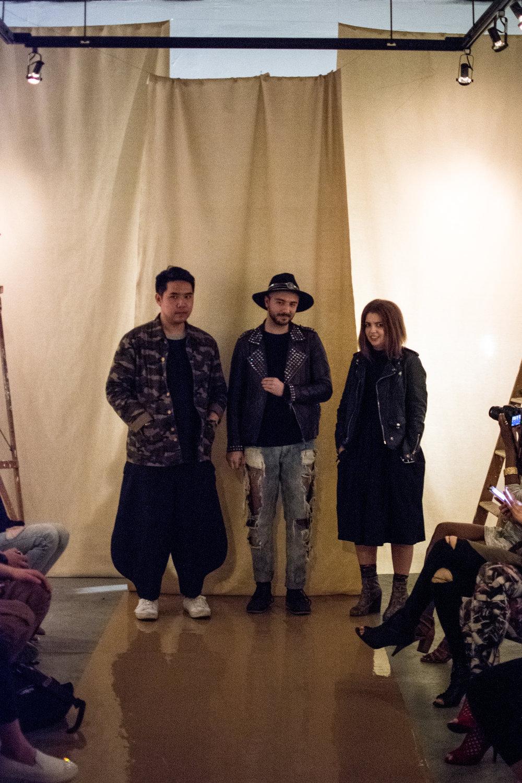 Alex, Evan, and Sara of Tripartite