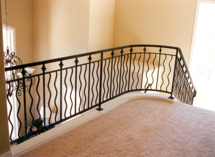 Ornate Interior Stair Railing