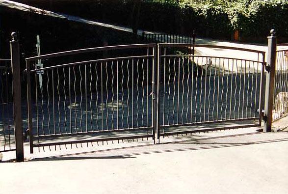 Driveway Gates Lafayette Iron