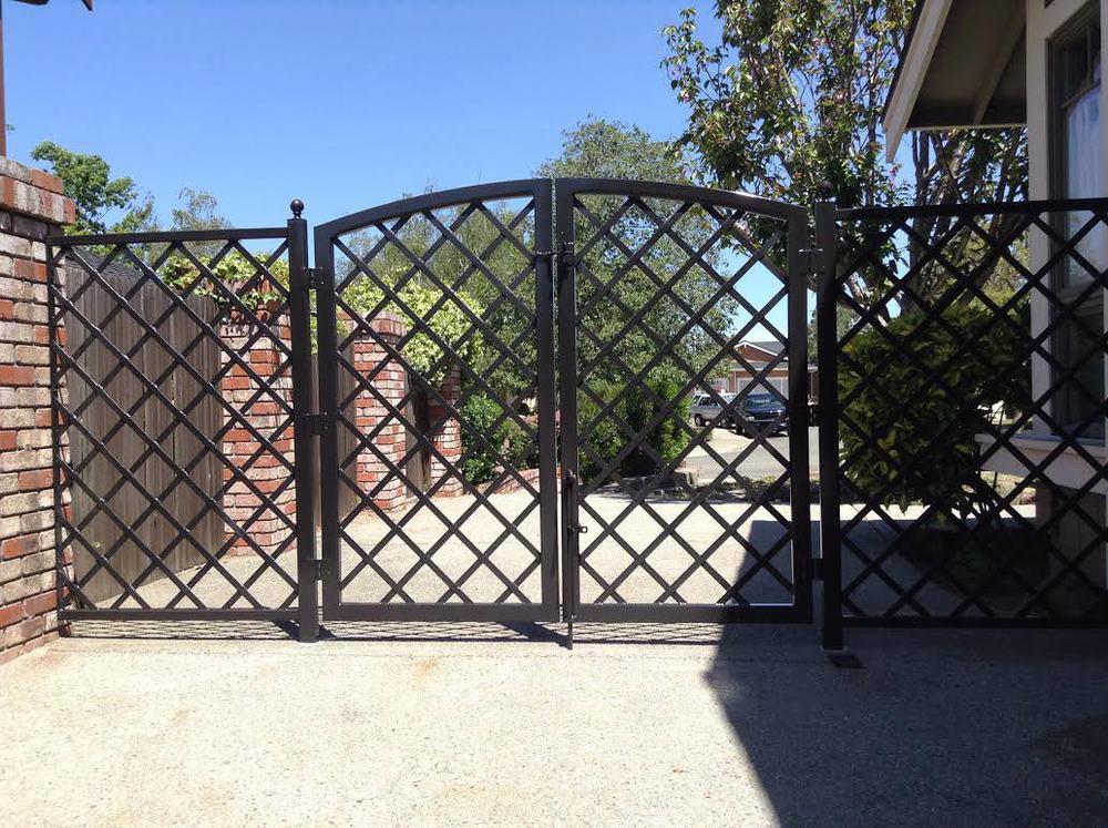 Walkway Gates Lafayette Iron