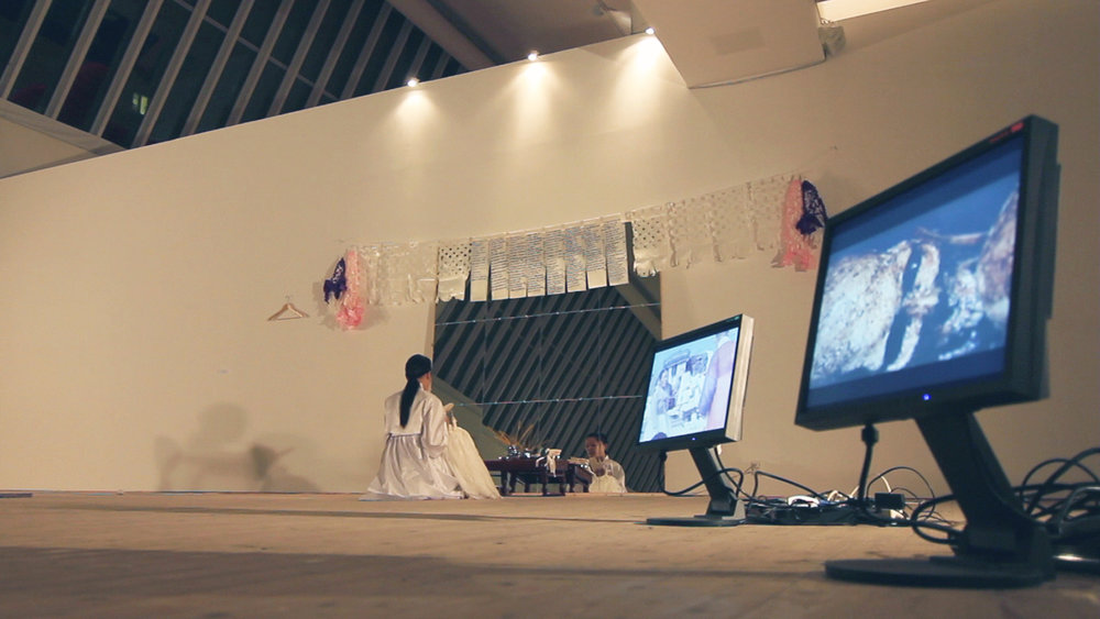 Documentation of performance at Malmö Konsthall, 2011