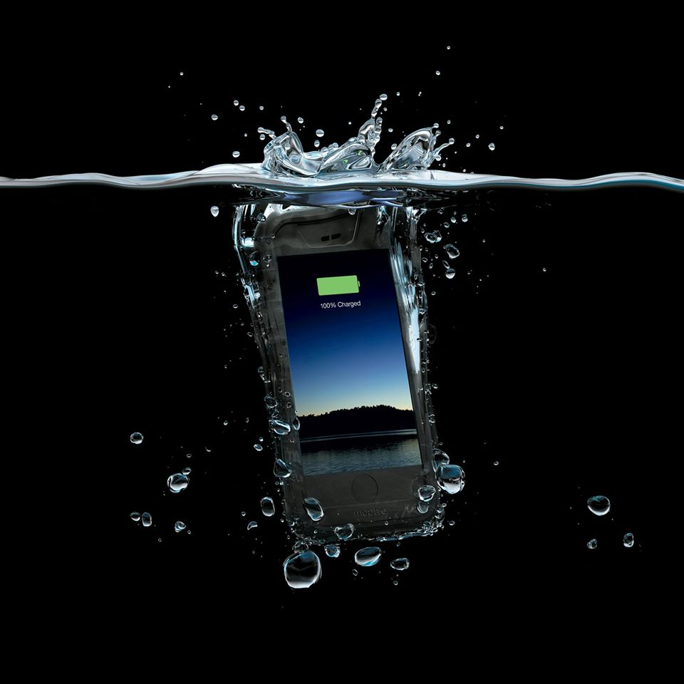 Waterproof protection and extra battery in one! The Mophie juice pack H2PRO is not only waterproof, it exceeds Military Standards for protection while providing more than 100% extra battery when you need it most. If dad doesn't need it, we might keep it ;)