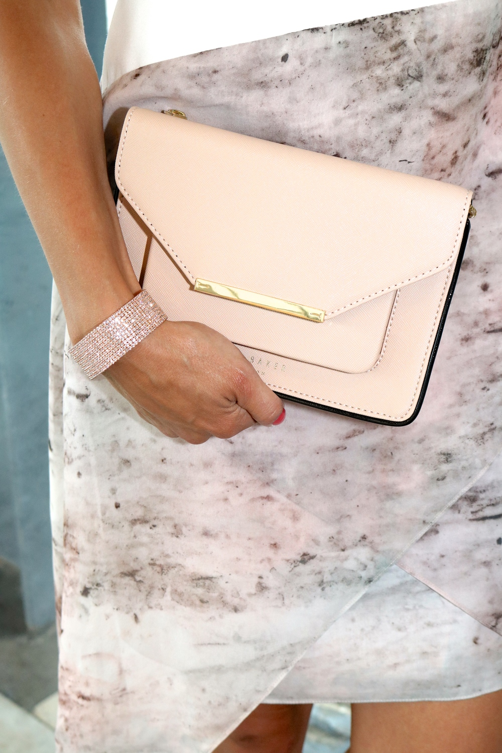 10 Row CZ Bangle Available in-store or online.  Ted Baker clutch is available in-store only (and it is on SALE!)