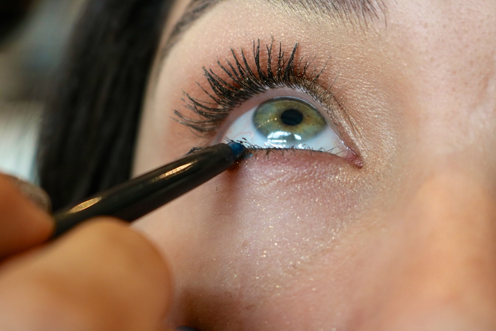Summer makeup tutorial libert clean up take this next step as a clean up time to remove any fallen eye makeup especially the little sparkles we used a baby wipe but you could just ccuart Image collections