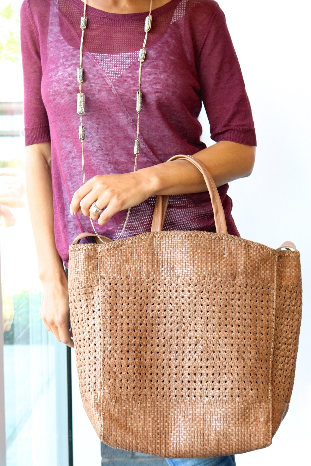 Laggo Terra Tote $525.00 (in-store only)