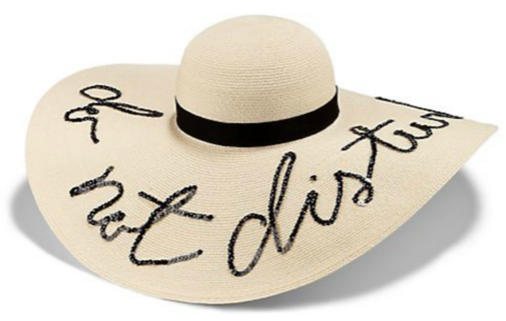 "Eugenia Kim ""Do Not Disturb"" Sun Hat"