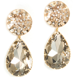 Crystal Drop Earrings, $158