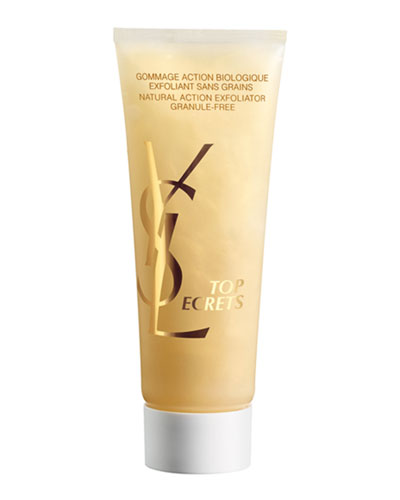 YSL Top Secret Natural Action Exfoliant, $44