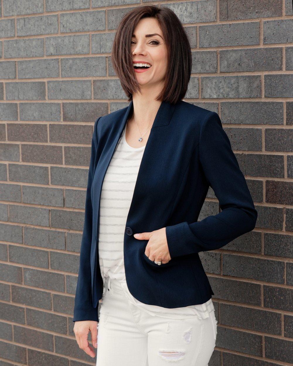 Nora Gardner Alanna Blazer