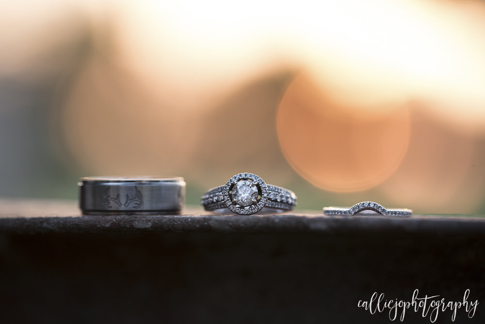 Couldn't pass up that sunset with the ring shot!