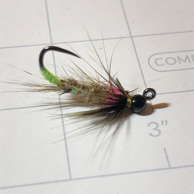 @fireholeoutdoors 523 is going to be an interesting hook to tie on. #flytying #flyfishing #sirenflies #troutflies #nymphs #jigflies