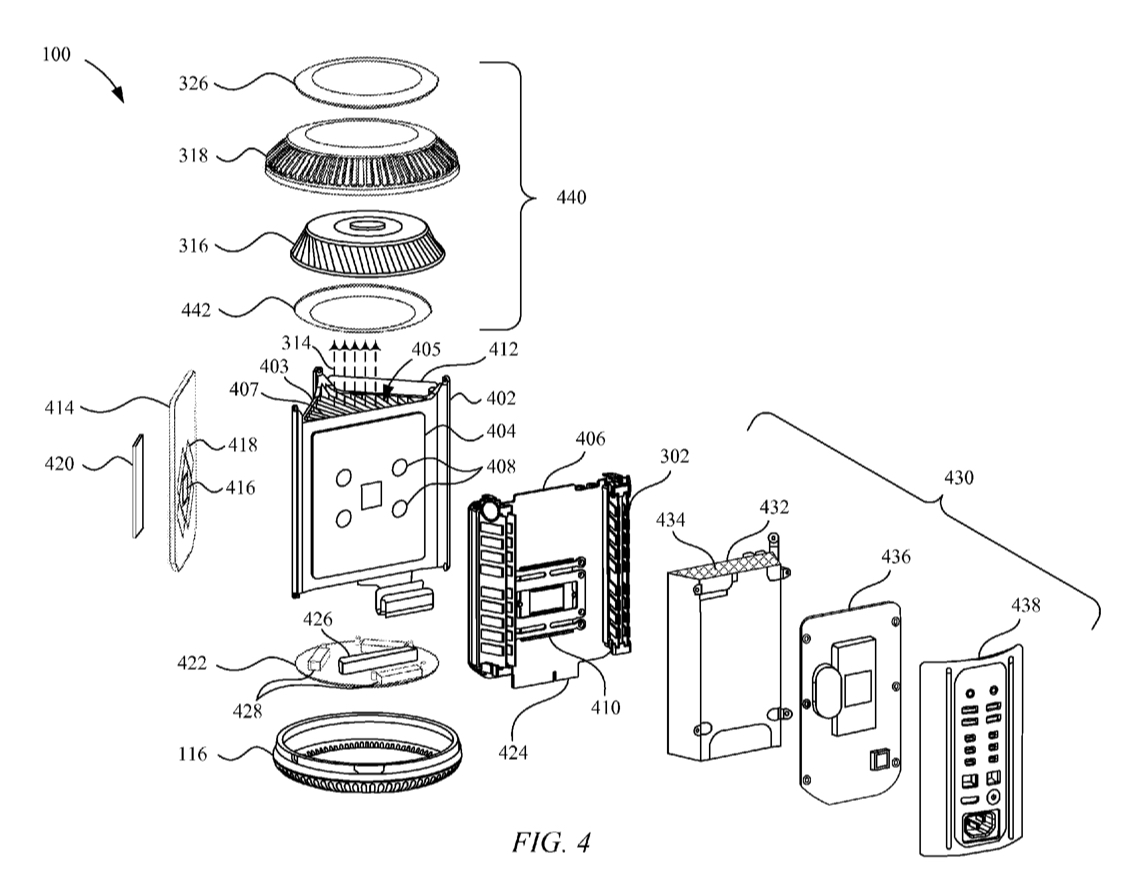 Mac Pro Patent Figure