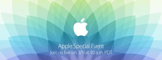 Apple Spring Forward Event